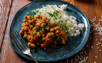 Tan's Favourite Coconut Chickpea & Vege Curry