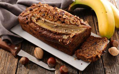 Vegan & Grain Free Hazelnut Banana Bread